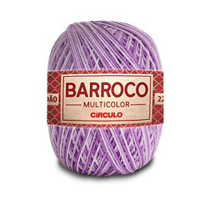Barbante Barroco Multicolor 6 Fios 200g Cor 9587