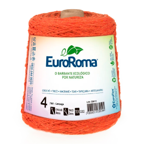 Barbante Euroroma Colorido 4 Fios 600g Cor 750