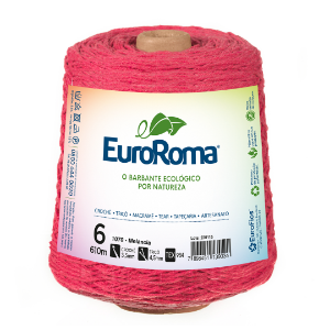 Barbante Euroroma Colorido 6 Fios 600g Cor 1070