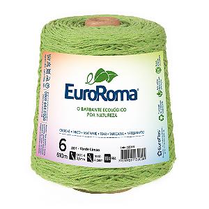 Barbante Euroroma Colorido 6 Fios 600g Cor 801