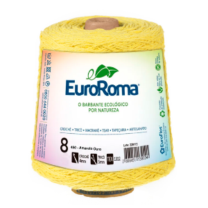Barbante Euroroma Colorido 8 Fios 600g Cor 450