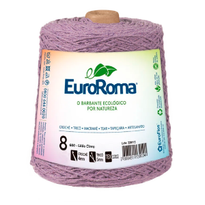 Barbante Euroroma Colorido 8 Fios 600g Cor 600