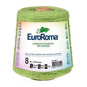 Barbante Euroroma Colorido 8 Fios 600g Cor 801