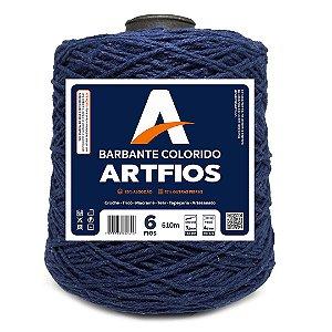 Barbante Artfios 6 Fios 600g Cor Azul