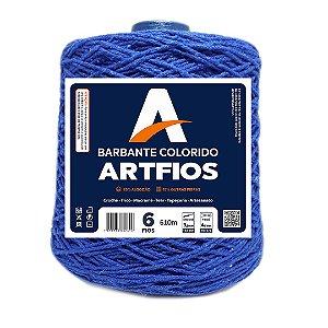 Barbante Artfios 6 Fios 600g Cor Azul Royal