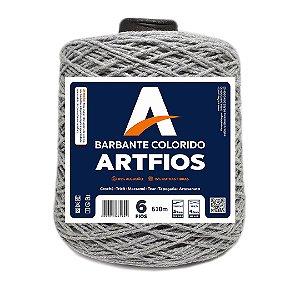 Barbante Artfios 6 Fios 600g Cor Cinza