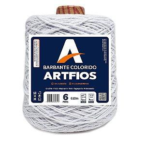 Barbante Artfios 6 Fios 600g Cor Branco