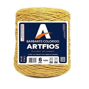 Barbante Artfios 6 Fios 600g Cor Mostarda
