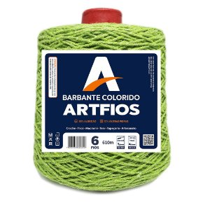 Barbante Artfios 6 Fios 600g Cor Abacate