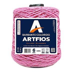 Barbante Artfios 6 Fios 600g Cor Rosa Escuro