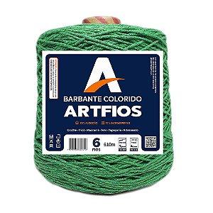 Barbante Artfios 6 Fios 600g Cor Verde Bandeira