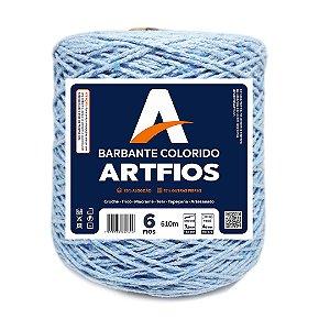 Barbante Artfios 6 Fios 600g Cor Azul Bebê