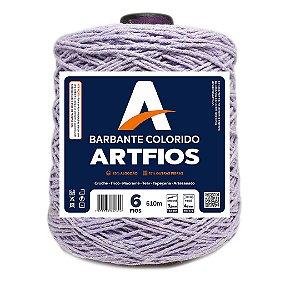 Barbante Artfios 6 Fios 600g Cor Lilás Claro