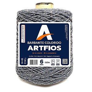 Barbante Artfios 6 Fios 600g Cor Grafite