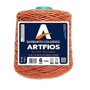 Barbante Artfios 6 Fios 600g Cor Telha