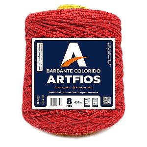 Barbante Artfios 8 Fios 600g Cor Vermelho