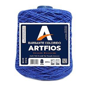 Barbante Artfios 8 Fios 600g Cor Azul Royal