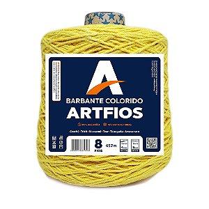 Barbante Artfios 8 Fios 600g Cor Amarelo