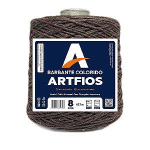 Barbante Artfios 8 Fios 600g Cor Marrom