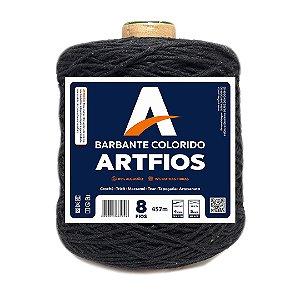 Barbante Artfios 8 Fios 600g Cor Preto