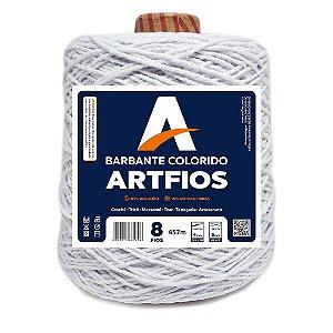 Barbante Artfios 8 Fios 600g Cor Branco