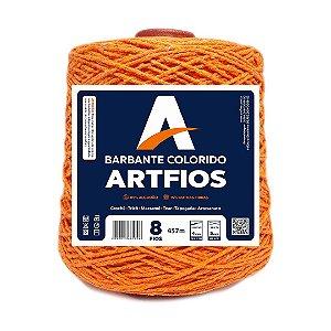 Barbante Artfios 8 Fios 600g Cor Laranja Forte