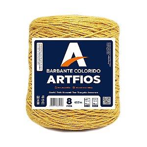 Barbante Artfios 8 Fios 600g Cor Mostarda