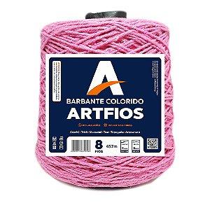 Barbante Artfios 8 Fios 600g Cor Rosa Escuro
