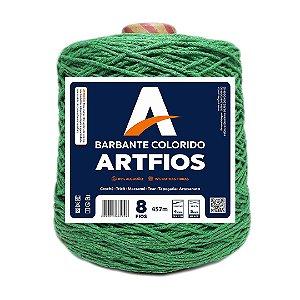Barbante Artfios 8 Fios 600g Cor Verde Bandeira