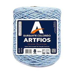 Barbante Artfios 8 Fios 600g Cor Azul Bebê