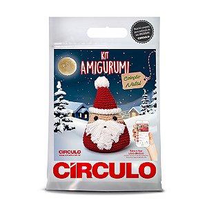 Kit Amigurumi Coleção Natal Cor 01 - Papai Noel