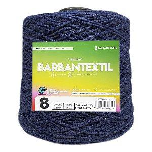 Barbante Colorido Barbantextil 2Kg 8 Fios Cor Azul Marinho