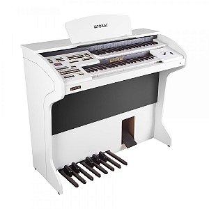 Órgão Eletrônico TOKAI D-2 Classic Branco