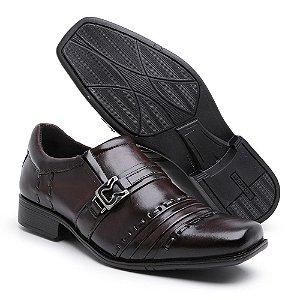 Sapato social nobre café-trice