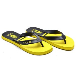 Chinelo Polo Confort Amarelo