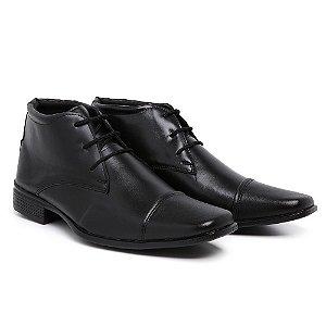 Sapato social Masculino com cadarço estilo bota