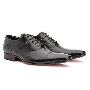 Sapato social Oxford cromo masculino