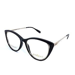 Óculos De Grau Colcci Preto Dourado