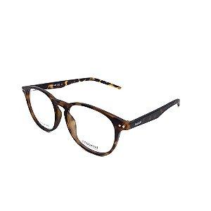 Óculos De Grau Polaroid Havana