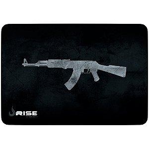 Mousepad Gamer AK47 Borda Costurada Médio 21x29 rg-mp-04-ak