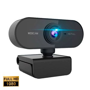 Webcam Lehmox Hd 1080p Auto Foco Com Microfone - LEY-233
