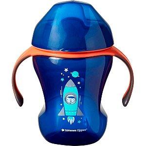 Copo de Treinamento Azul Bico Macio +7 meses 230ml