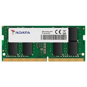 Memória Ram Notebook 4GB Ddr4 2666mhz Adata AD4S26664G19-SGN