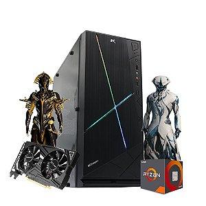 Pc Gamer Xtreme Amd R5 5600x 16gb ssd 480gb Gtx1650 4gb