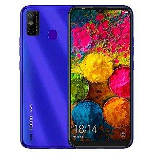 Telefone Celular Tecno Spark 6 Go Dual SIM Azul 64GB 4GB RAM
