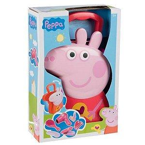 Maleta Peppa Pig Cabeleireira Multikids - BR1303