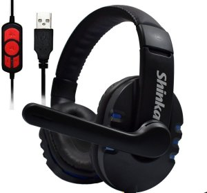 Headset Gamer com microfone usb shinka - q7