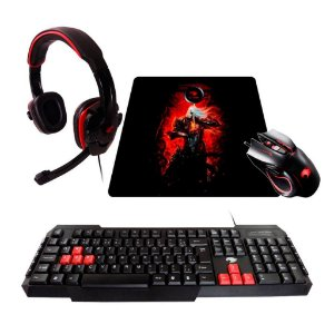Kit Gamer G-fire  mouse headset teclado mouse pad - ktt227e50114