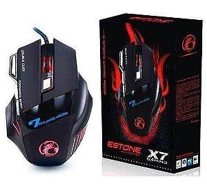 Mouse Gamer x7 shinka usb shinka - x7