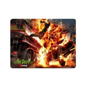 Mousepad Gamer xfire explosion hand fire 44x35cm